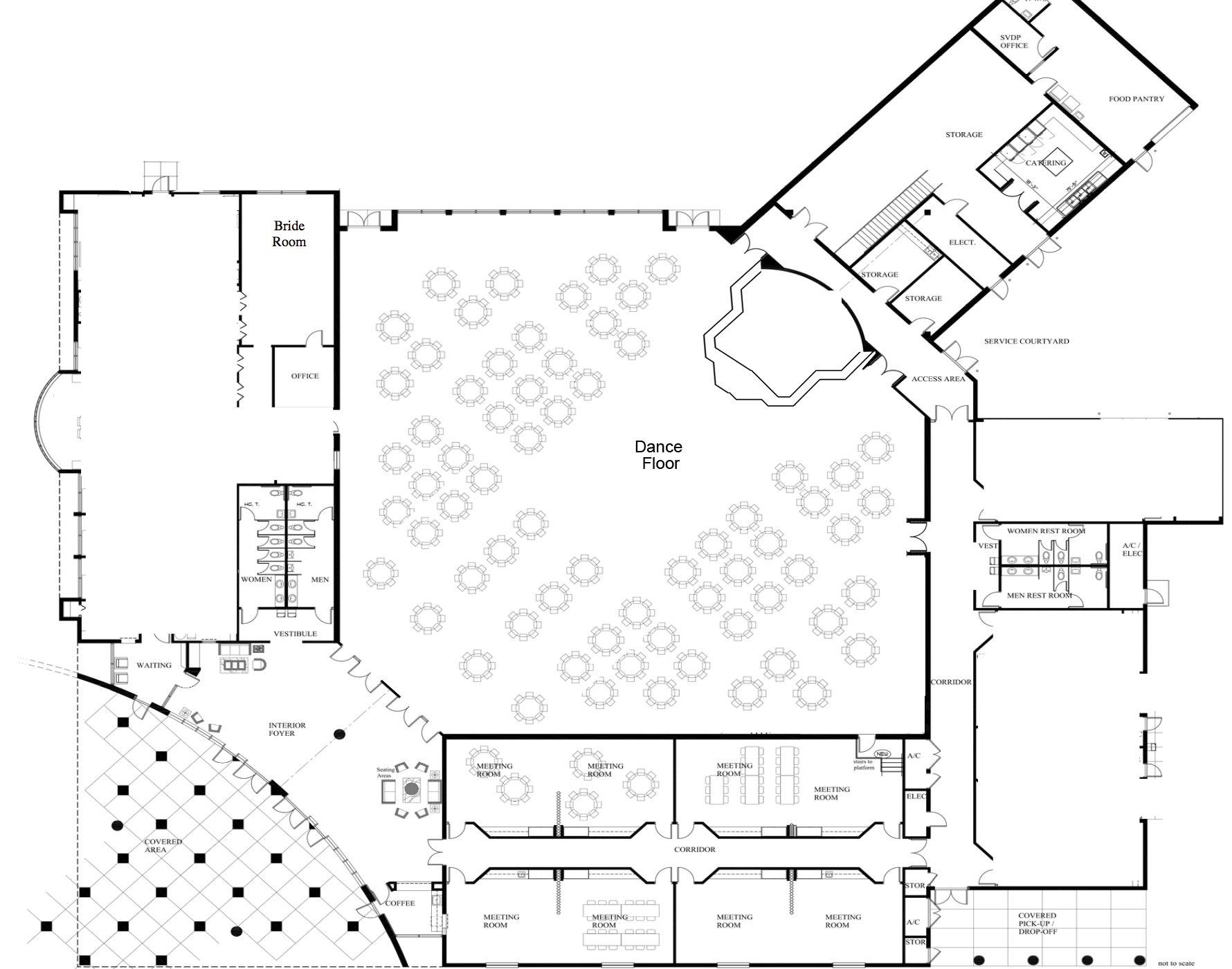 The venetian banquet hall floor plan gurus floor for 1000 venetian way floor plans
